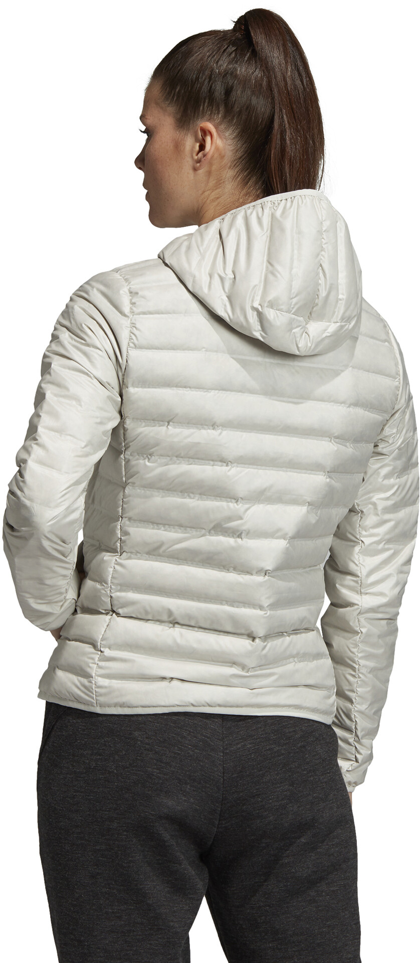 adidas TERREX Varilite Hooded Down Jacket Women raw white